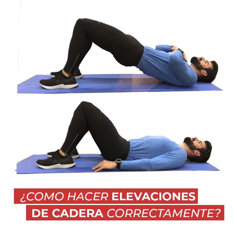 ¿Como hacer elevaciones de cadera correctamente?